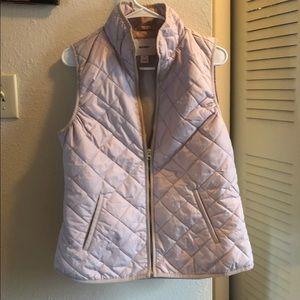 LNWOT Old navy Rose gold vest